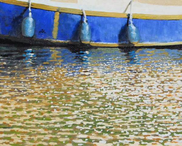 Blue And Gold Art | Fountainhead Gallery