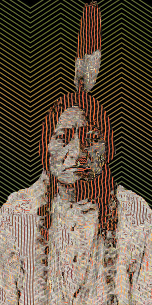 Native American Art and Photographs, Sitting Bull by Peter McClard.