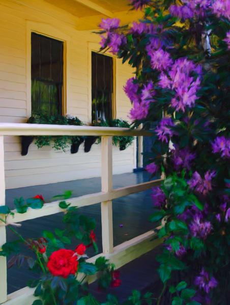 Flower Napa P0082 18x24 Photography Art | Jeff Rogers Photography, Inc.