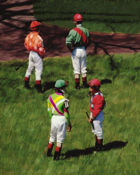 Keeneland - Four Jockeys
