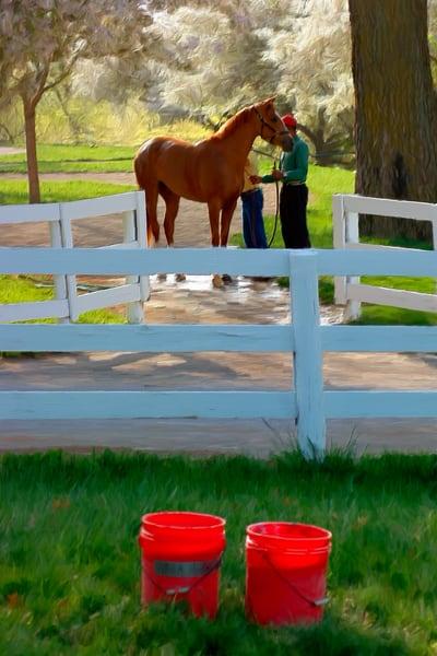 Keeneland - Red Buckets