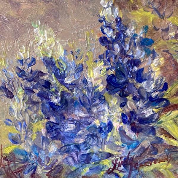Lindy Cook Severns Art | Texas Bonnets, original oil