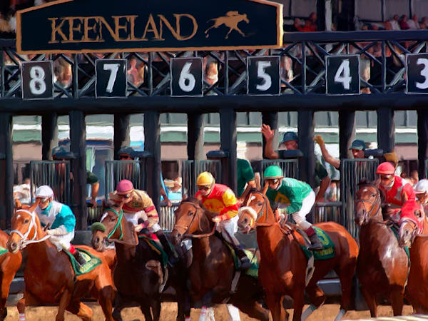 Keeneland - Out of the Gate