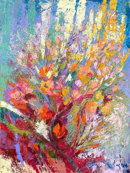 Penetrating Grace Original Oil Painting | Dorothy Fagan Joy's Garden