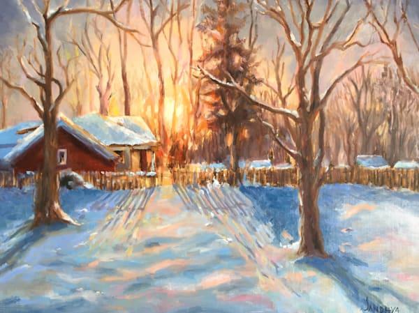 A Touch Of Winter Art | Mid-AtlanticArtists.com