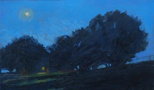 Moon Over Medfield Art | Mid-AtlanticArtists.com