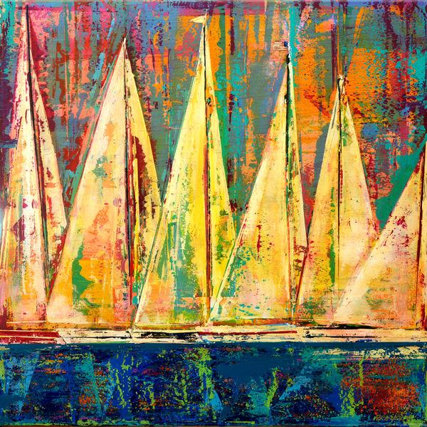 Sail Boats  Art   benbonart