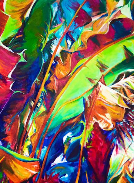 Stan dornfest spring forth acrylic on canvas 36 x 48 4000. fci0ec