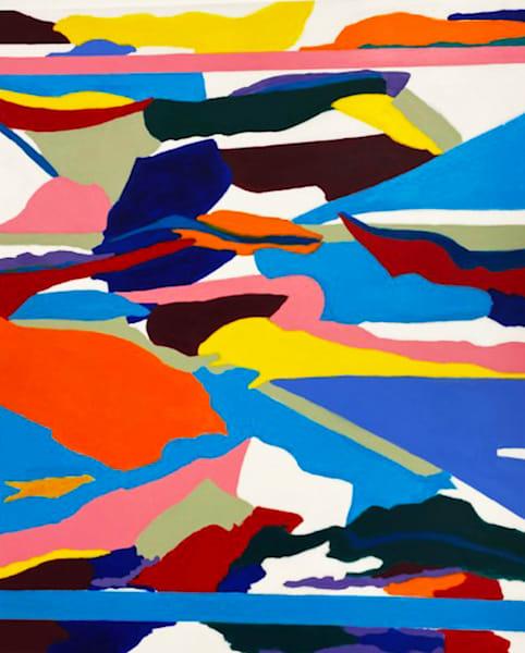 Homage to piero acrylic on canvas 60  x 72  12000 fc2ihr