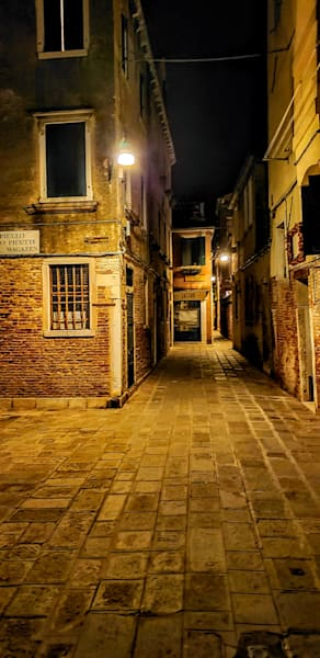 What's Down This Way? In Venice Photography Art   Photoissimo - Fine Art Photography