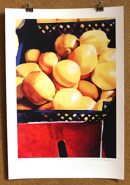 Lemons Art | Courtney Miller Bellairs Artist
