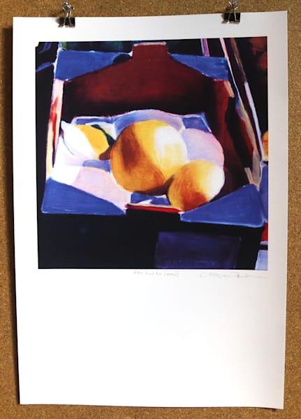 Fruit Box (Detail) Art | Courtney Miller Bellairs Artist