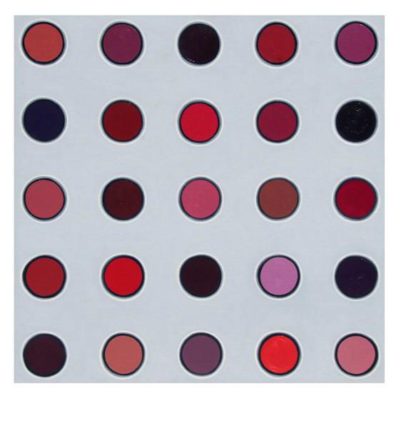 Lipstick Palette Art | Courtney Miller Bellairs Artist
