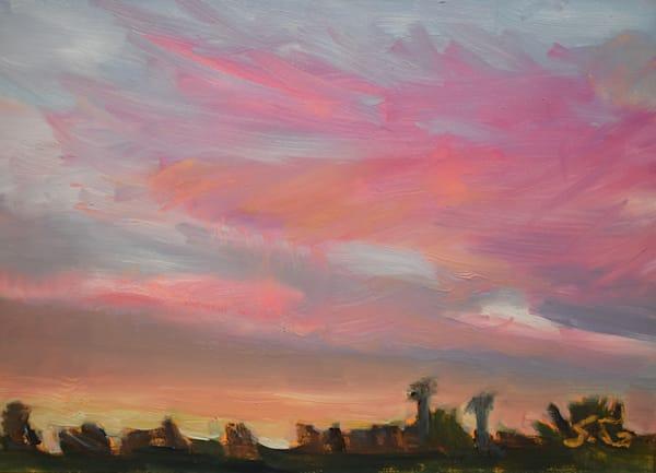Sunset 2 March 27 Art | Sharon Guy