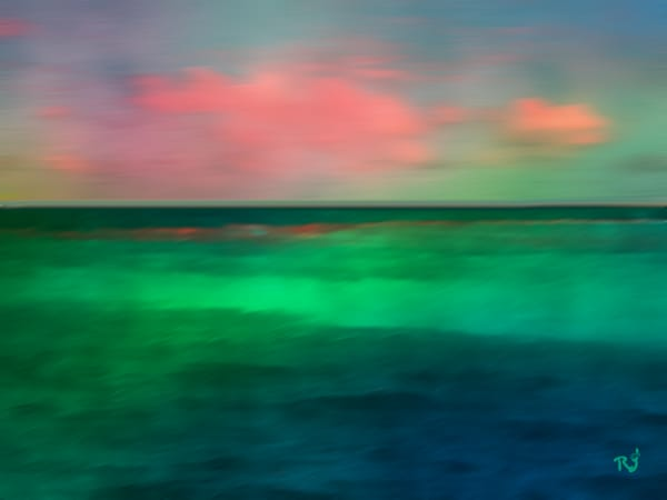 Ocean Green Photography Art | Artscapes by Renee
