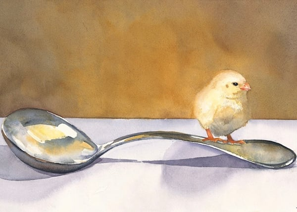 No Soup Today  Art | Katherine Rodgers Fine Art