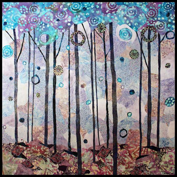 Peaceful Forest  Art | Sharon Tesser LLC
