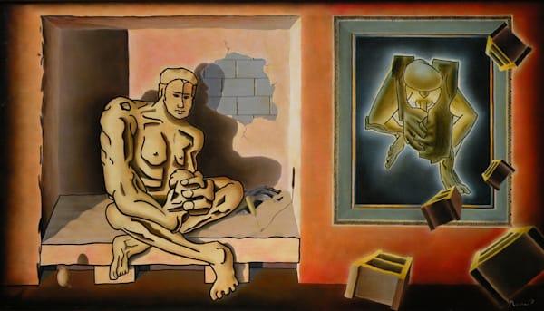 Portents of Genius - Original Oil Painting