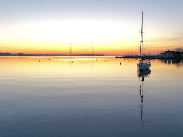 Recipe For A Perfect Annapolis Sunrise Art   Jeff Voigt Owner/Aerial Photographer