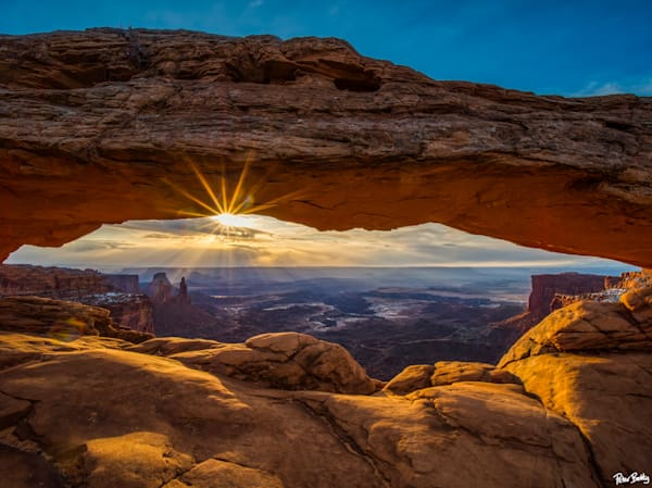 Sunrise At Mesa Arch Photography Art | Peter Batty Photography