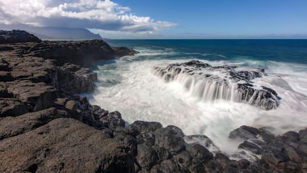 beautiful coastline, Kauai, Queens Bath, One of a kind, exclusivity