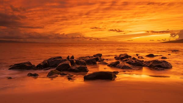 Glowing Sunset Photography Art | Douglas Hoffman Photography
