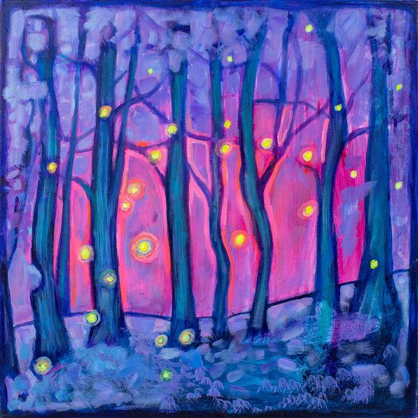 Chasing Fireflies, 1978 Art | RPAC Gallery