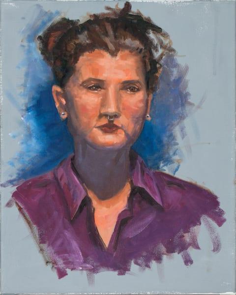 Purple Art | Sarah E. McCord- Metaphysical Portraitist