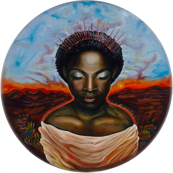 Powerful Black Woman Art | Sarah E. McCord- Metaphysical Portraitist