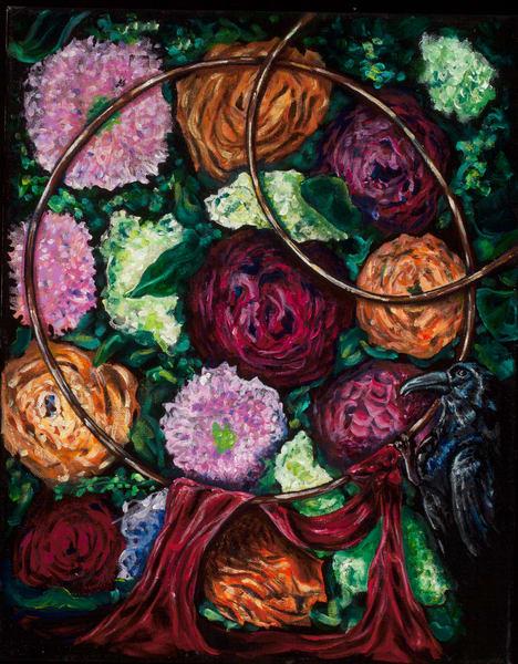 The Hour Of Our Love Art | Sarah E. McCord- Metaphysical Portraitist
