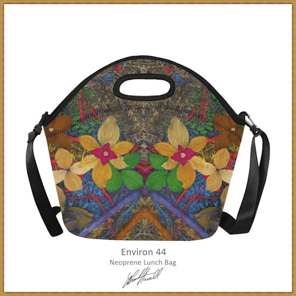 Environ 44 Lunch Bag | Loree Harrell Art