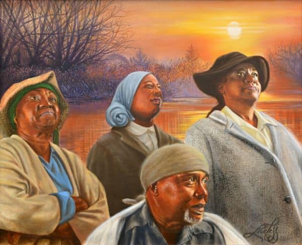 Hopeful And Prayerful Art | James Loveless Art