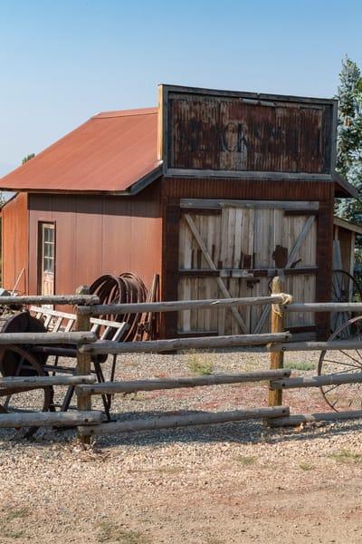 Blacksmith Shop In Midas, Nevada Photography Art | Great Wildlife Photos, LLC