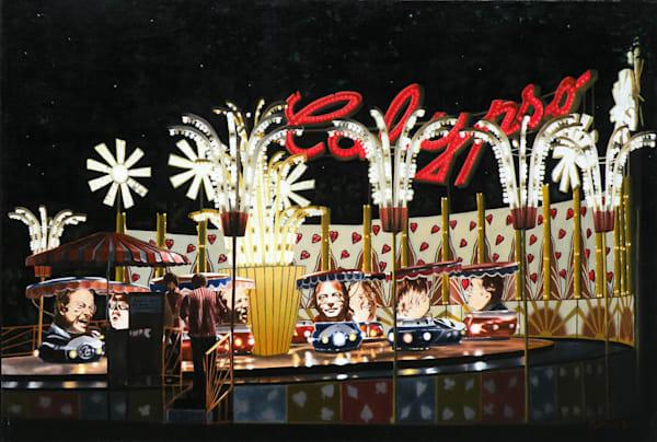 Calypso - Original Oil Painting