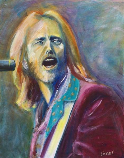 Tom Petty Print Art | Limor Dekel Fine Art