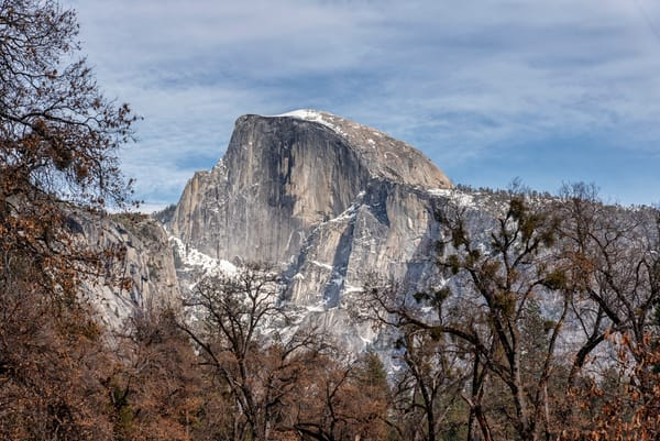Yosemite Half Dome Close Up Art | Michael Blanchard Inspirational Photography - Crossroads Gallery