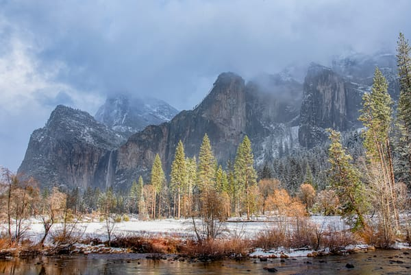 Yosemite Valley View Art | Michael Blanchard Inspirational Photography - Crossroads Gallery