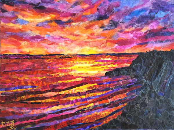 Sunset Cliffs  Art | Poppyfish Studio