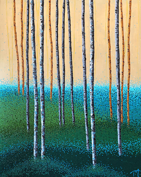It Comes In Waves   Original Oil Painting Art | Tessa Nicole Art