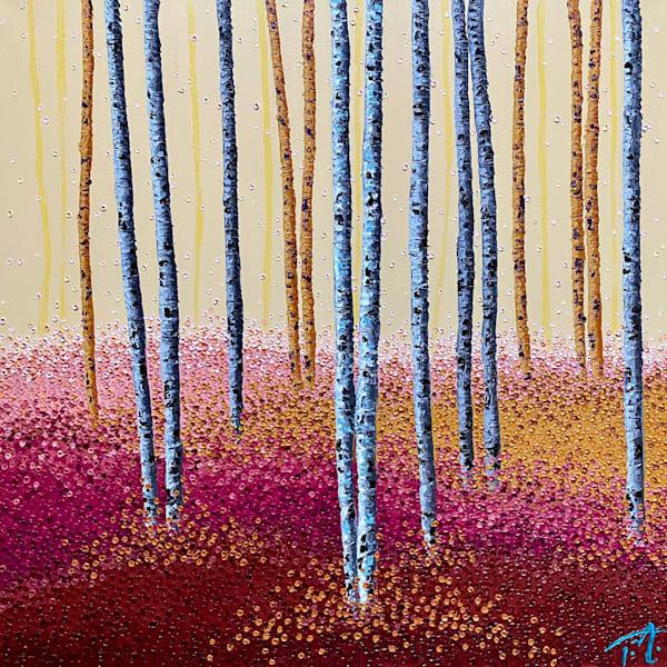 Bubblegum Forest   Original Oil Painting Art | Tessa Nicole Art