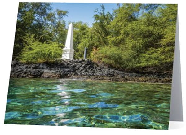 Captain Cook Monument Notecard | Bird In Paradise