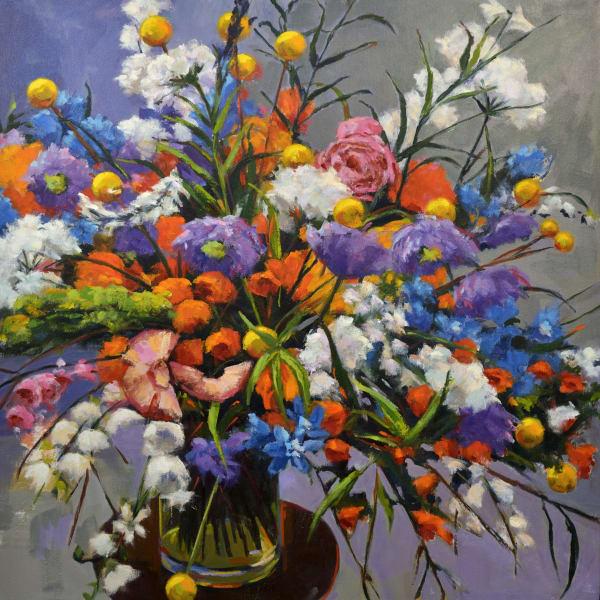 Hallgren Bouquet Xvii Print Art | Jenn Hallgren Artist