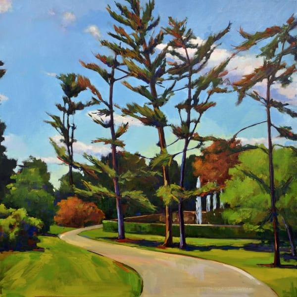 Tall Pines Vienna Print Art | Jenn Hallgren Artist