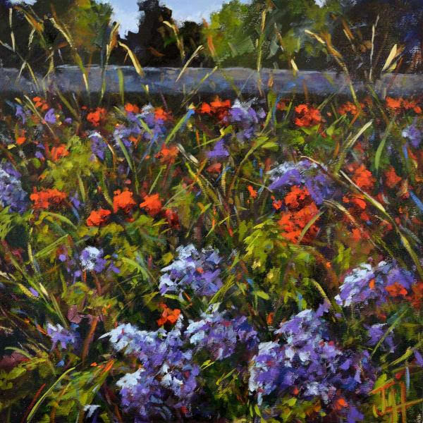 Vienna Wildflowers Print Art | Jenn Hallgren Artist