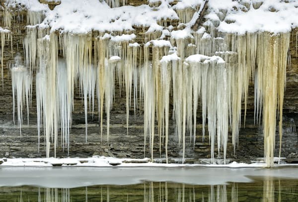 Ice Over River 6471