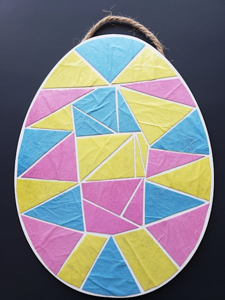 Easter Egg Mosaic Artwork Photography Art | Photoissimo - Fine Art Photography
