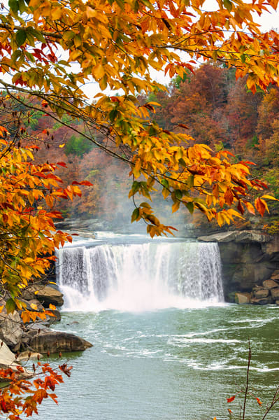 Autumn at Cumberland Falls 8128b
