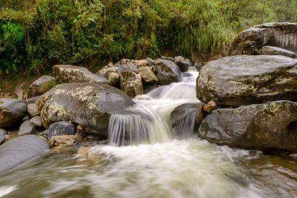 Bolivia Waterfall5355 Photography Art | Jeff Rogers Photography, Inc.
