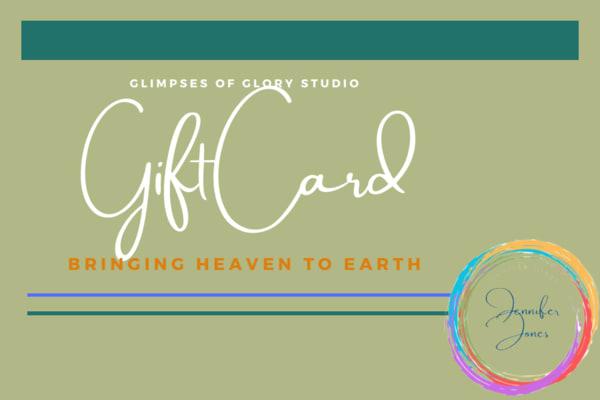 Gift Card   glimpsesofglory