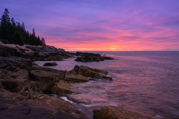 Maine Acadia Pre Sunrise1889 Photography Art | Jeff Rogers Photography, Inc.